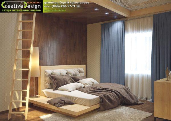 Комната в два уровня г. Сумы